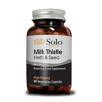 Solo Nutrition Milk Thistle 60 Capsules