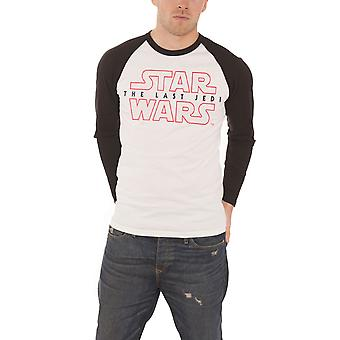Star Wars T Shirt The Last Jedi Movie Logo Official Mens New Baseball Shirt