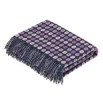 Bronte By Moon Milan Lambswool Throw - Heather