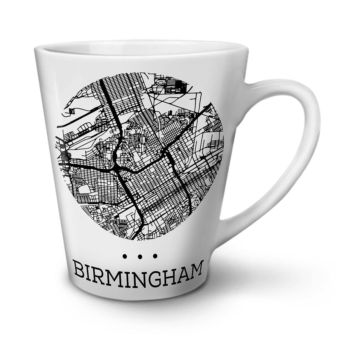 Thé Céramique Mug Latte En Birmingham Nouveau Carte 12 Blanc Café Mode De OzWellcoda Tlc1JKF3