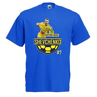 Andrej Sjevtsjenko østlige vind t-skjorte (blå)