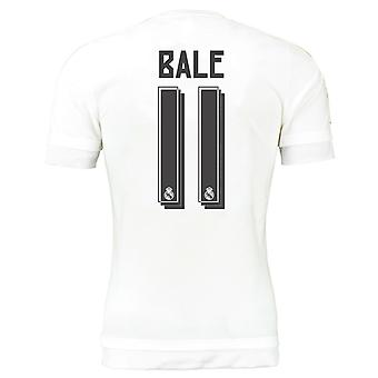 2015-16 Real Madrid Home Trikot (Bale 11) - Kids