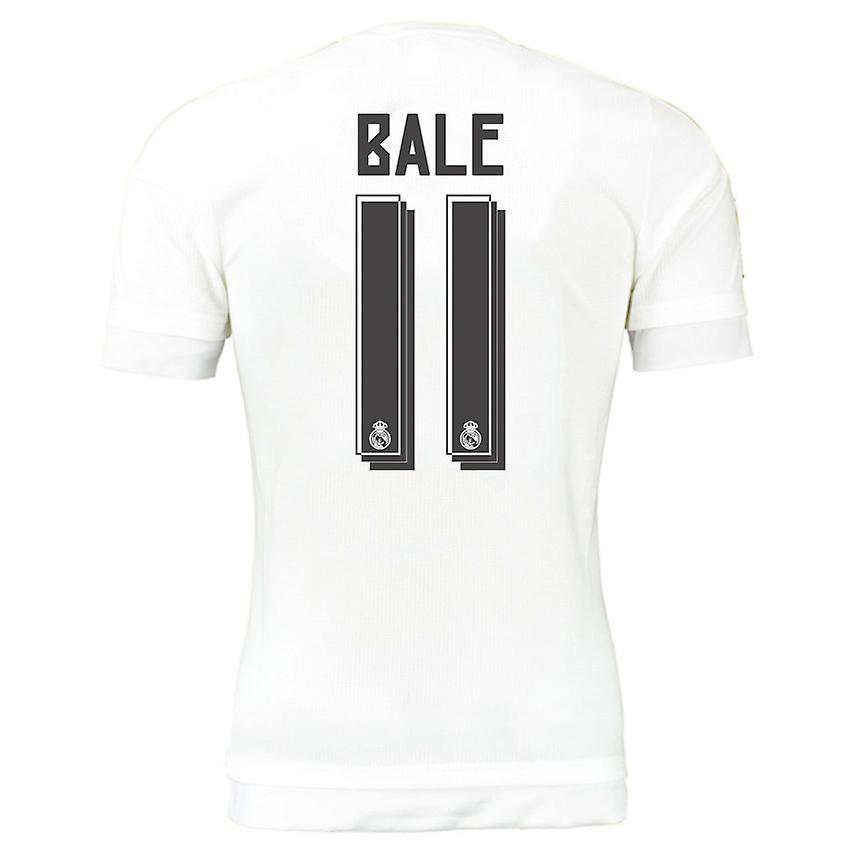 2015-16 Real Madrid Home Shirt (Bale 11) - Kids
