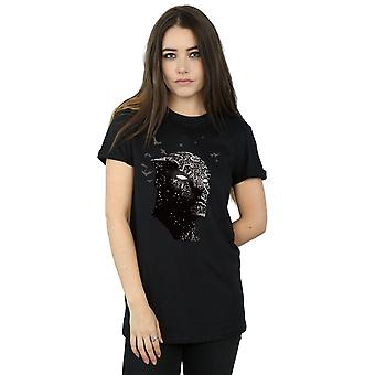 Wonder Women's Black Panther Crouching Boyfriend Fit T-Shirt