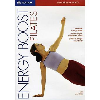 Energy Boost Pilates [DVD] USA import