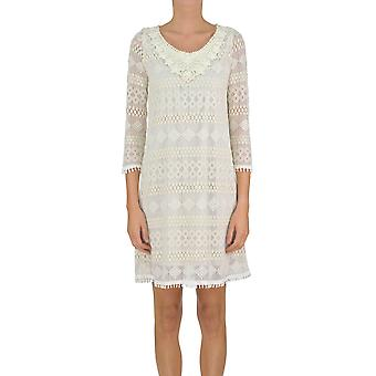 Soallure ladies MCGLVS003214E beige polyester dress