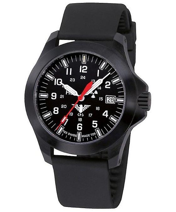 KHS Uhren Herrenuhr Black Platoon LDR KHS.BPLDR.SB