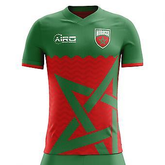 2018 / 2019 Marokko Wohnkonzept Fußballtrikot
