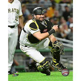 Francisco Cervelli 2017 Action Photo Print