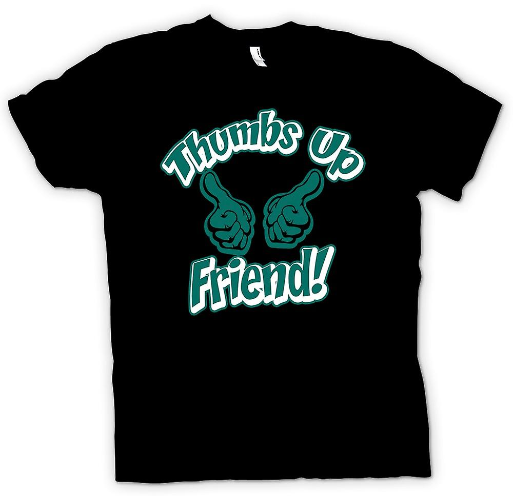 Mens T-shirt - Thumbs Up Friend - Funny