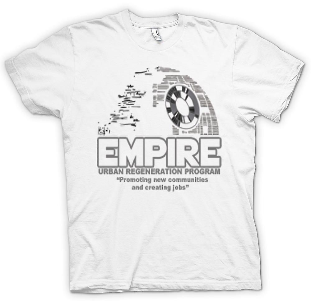 Mens t-shirt - Impero rigenerazione urbana Death Star - Star Wars