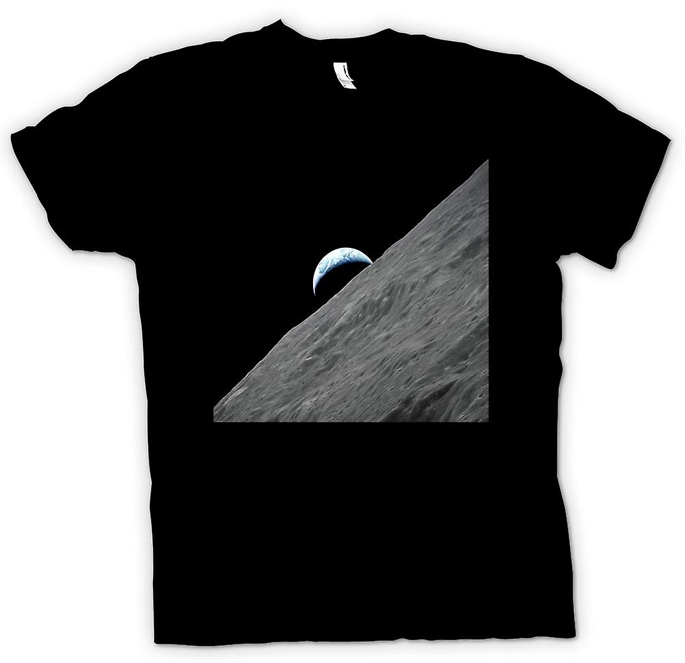 Mens T-shirt - View Of Earth From The Moon