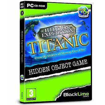 Hidden Expedition Titanic (Pc CD) - Usine scellée