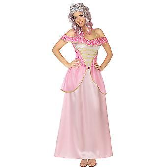 Kobiety stroje różowa księżniczka sukienki dla pań