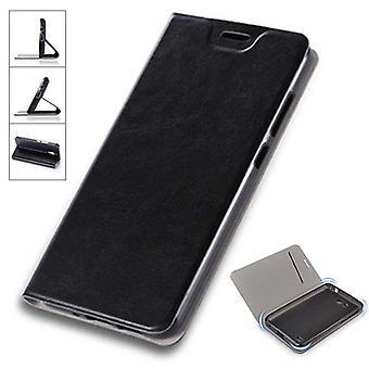 Flip / smart cover nera per Samsung Galaxy S9 plus G965F copertura Custodia Custodia cover nuovo custodia