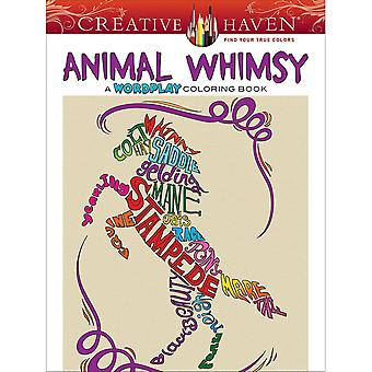 Dover Publications-Creative Haven: Animal Whimsy