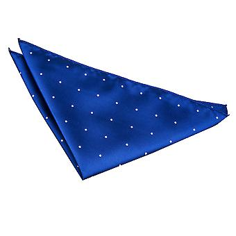 Royal Blue Pin Dot Taschentuch / Tasche Square
