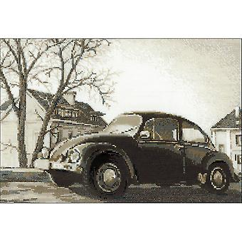 The Beetle Counted Cross Stitch Kit-15