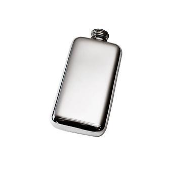 3Oz Plain Pewter Pocket Flask
