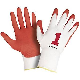 Polyamide Protective glove Size (gloves): 10, XL EN 420-2003 , EN 388-2003 CAT II Honeywell AIDC Check & Go Red PU 1 2332255 1 pair