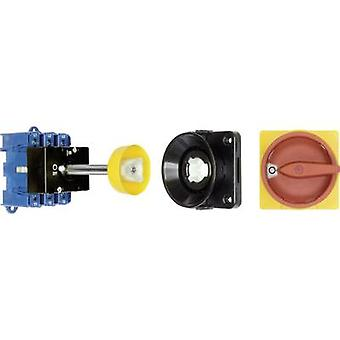 Kraus & Naimer KG80 T203/09 VE Isolator switch + door interlock 80 A 1 x 90 ° Red, Yellow 1 pc(s)