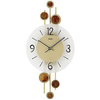 الجدار مرو على مدار الساعة على مدار الساعة الكريستال المعدنية منصات معدنية زخرفية مرو ساعة الحائط