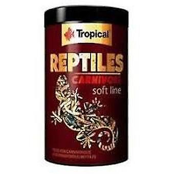 Tropical 11624 Reptil Soft Carnivoros 250 ml (Reptiles , Comida)