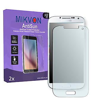 Samsung I9505 Galaxy S4 LTE Screen Protector - Mikvon AntiSun (Retail Package with accessories)