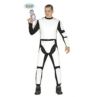 Weltraumsoldat Space Astronaut Klon Krieger Kostüm Herren Sternenkrieger
