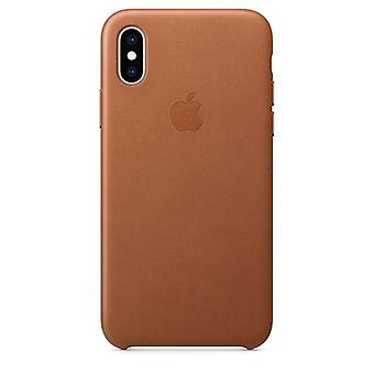 Apple iPhone XS leergeval - Saddle Brown