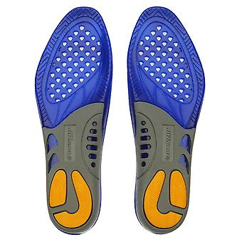 Dunlop Unisex Gel solette arco silicio Comfort piede piedi supporto calzature scarpa