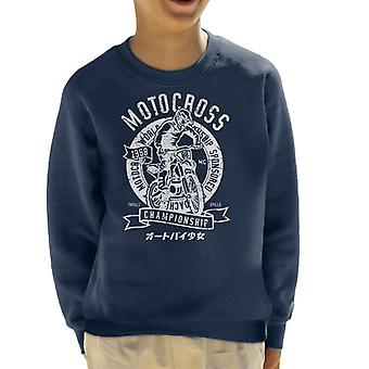 Motocross 1988 World Championship børne Sweatshirt