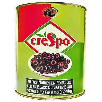Crespo schwarze olivenscheiben