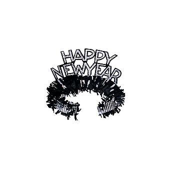 Nieuwjaar Regal Tiaras - Black & zilver (25)