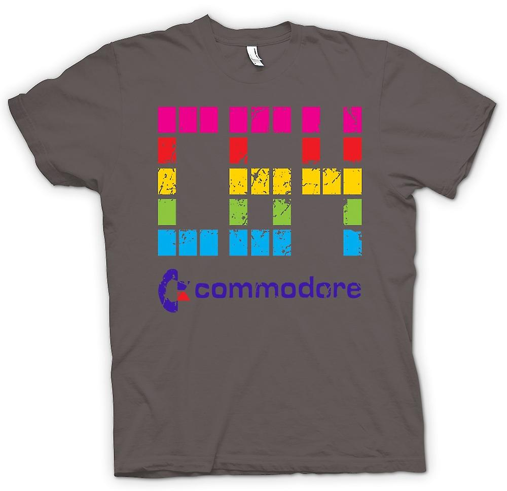 Womens T-shirt - Commodore C64 - Retro Computer Games - Funny