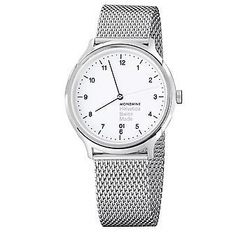 Mondaine Helvetica Mesh Bracelet Mens Watch MH1.R2210.SM 31mm