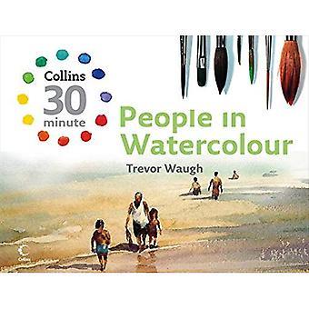 Persone in acquerello (Collins 30 minuti pittura serie)