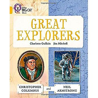 Collins Big Cat - Great Explorers: Christopher Columbus and Neil Armstrong: Band 09/Gold