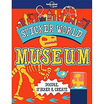 Sticker World - Museum (Lonely Planet Kids)