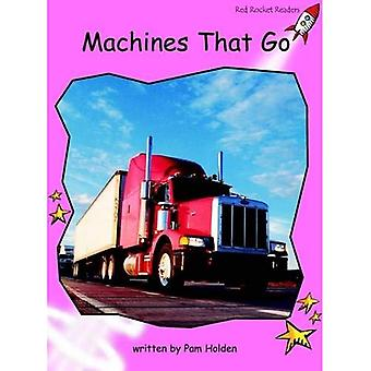 Machines That Go: Pre-reading (Red Rocket Readers: Non-fiction Set B)