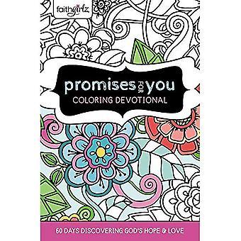 Faithgirlz promesses pour vous coloriage dévotion: 60 jours découverte de Dieu espoir et amour (Faithgirlz)