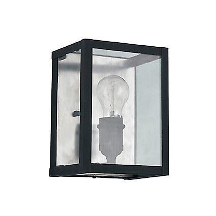 Ideal Lux - Igor noir Wall lumière With Clear Glass Plates IDL092836