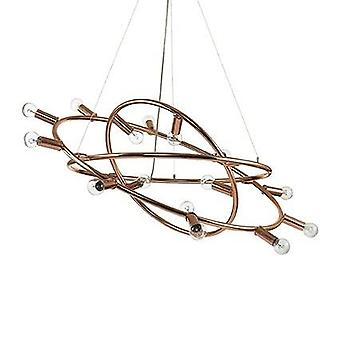 Ideal Lux - Cosmo Large Copper Pendant IDL133058