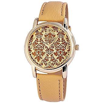 Excellanc 195007500194-wristwatch, imitation leather, color: Beige