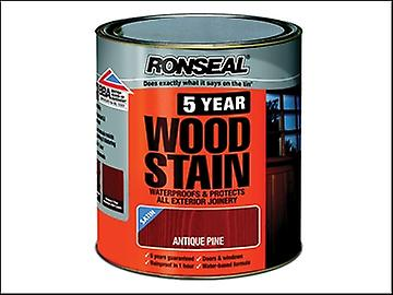 Ronseal 5 Year Woodstain Antique Pine 750ml