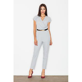 FIGL women's jumpsuits overall grey