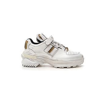 Maison Margiela White Leather Sneakers