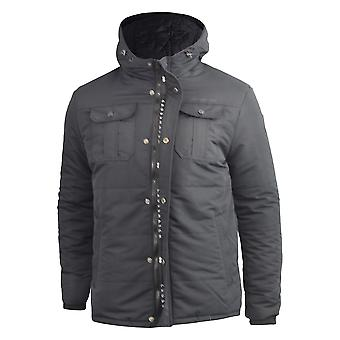 Mens heavy parka crosshatch  jacket  beekham
