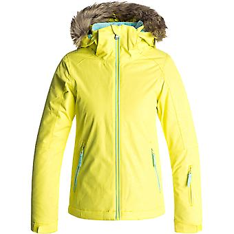 Roxy Lemon Tonic-Gana Emboss Jet Ski Solid Girls Snowboarding Jacket