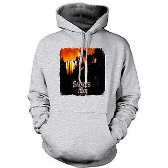 Mens Hoodie - Tropic Thunder - Satans Alley - Funny